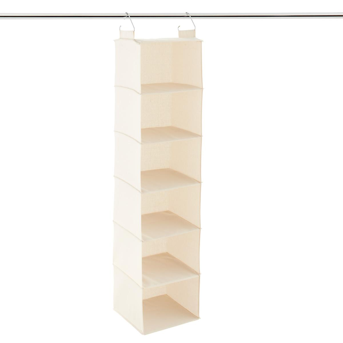 10 compartment canvas hanging shoe organizer the