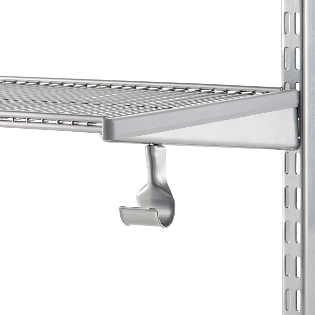 closet home socket rods hardware adjustable holders diameter rod wood installation support bracket pole holder