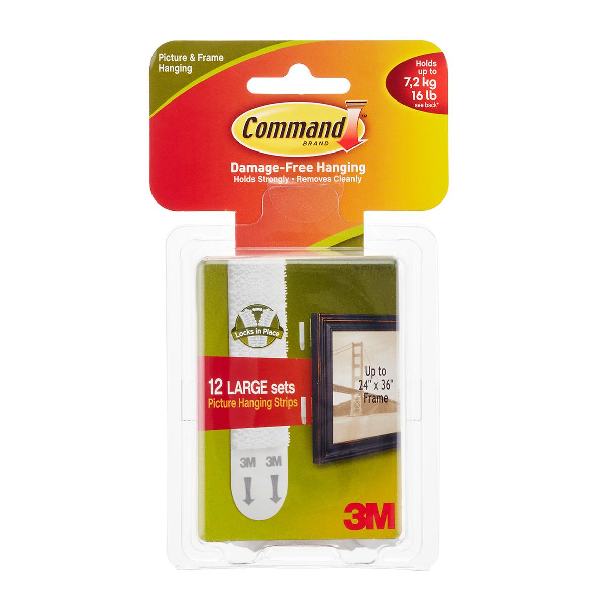 3m Command Adhesive Picture Hanging Strips The Container Store