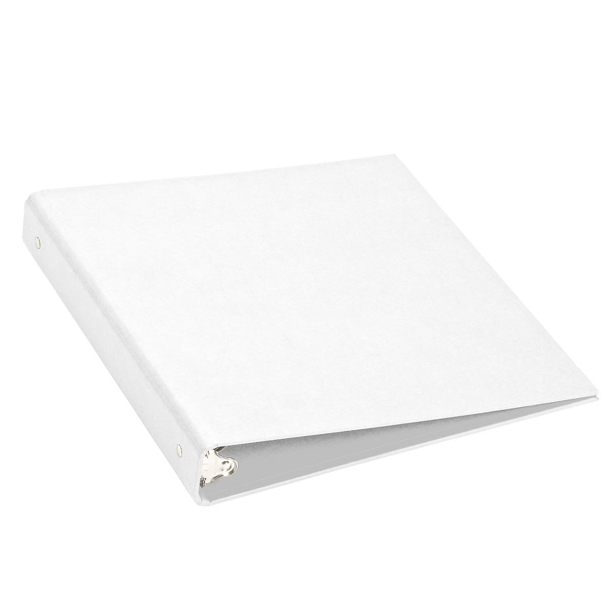 bigso white stockholm 1 three ring binder the container store