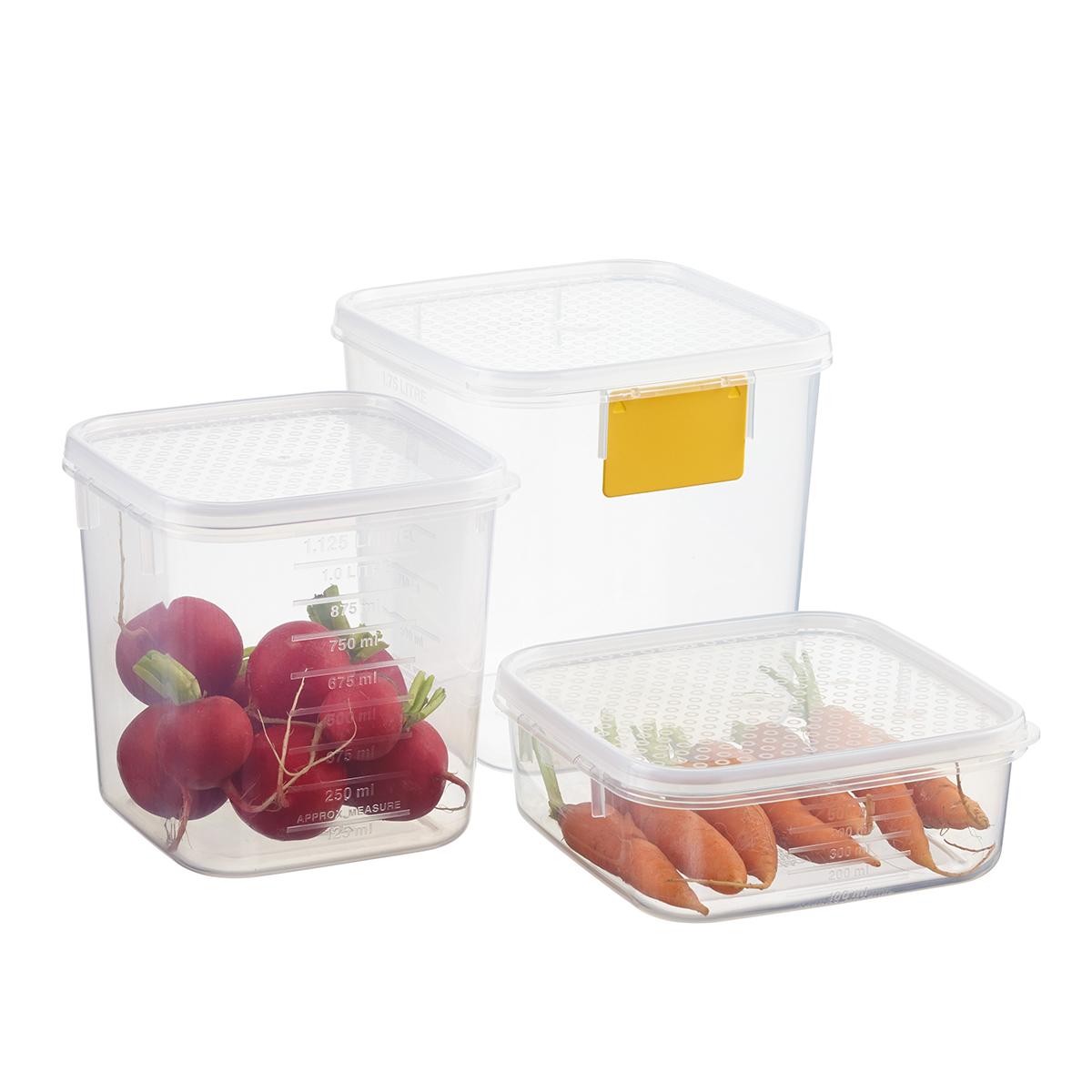 Tellfresh Square Food Storage  sc 1 st  The Container Store & Tellfresh Square Food Storage | The Container Store