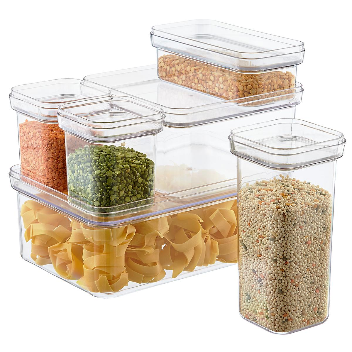 modular canisters the container store