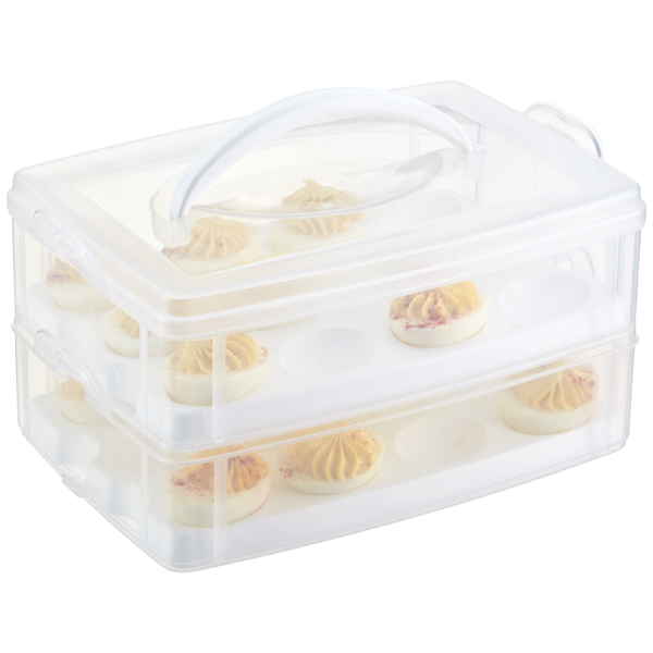 Snap N Stack Egg Tainer