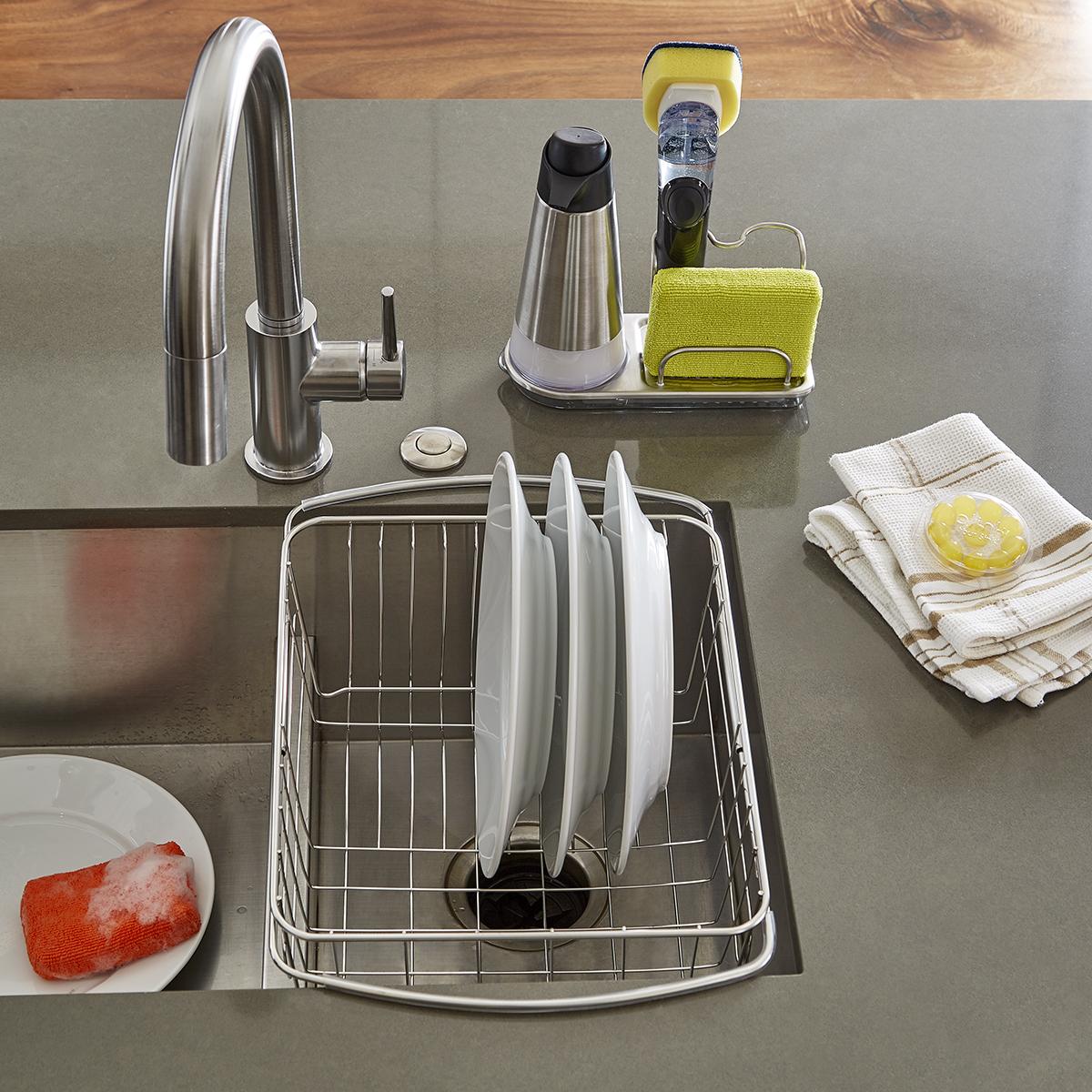 OXO Stainless Steel Sink Organizer