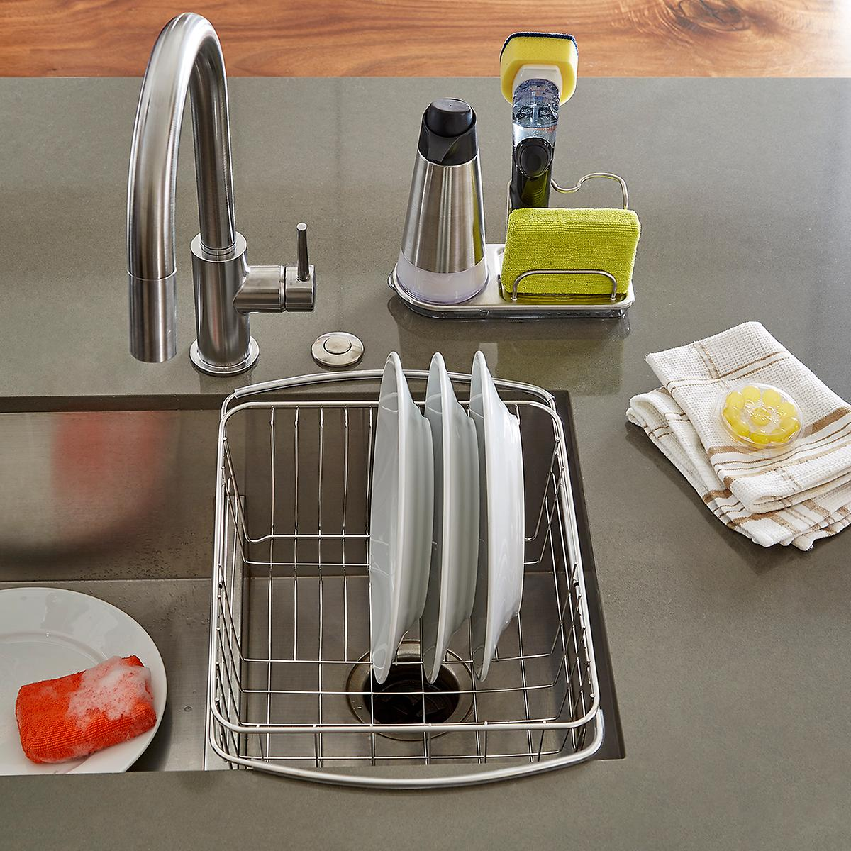 OXO Stainless Steel Pump Dispenser | The Container Store