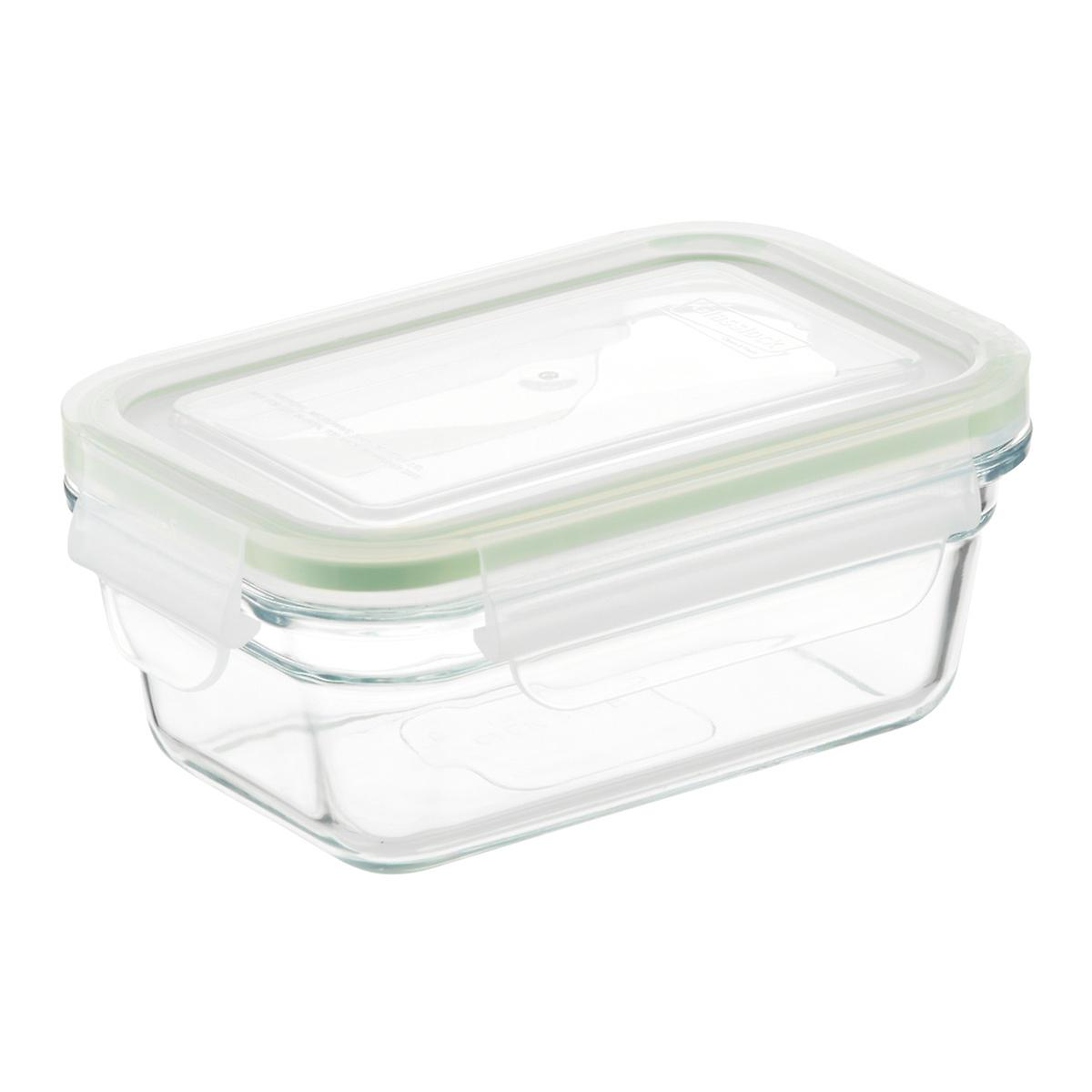 glasslock rectangular food containers with lids the container store. Black Bedroom Furniture Sets. Home Design Ideas