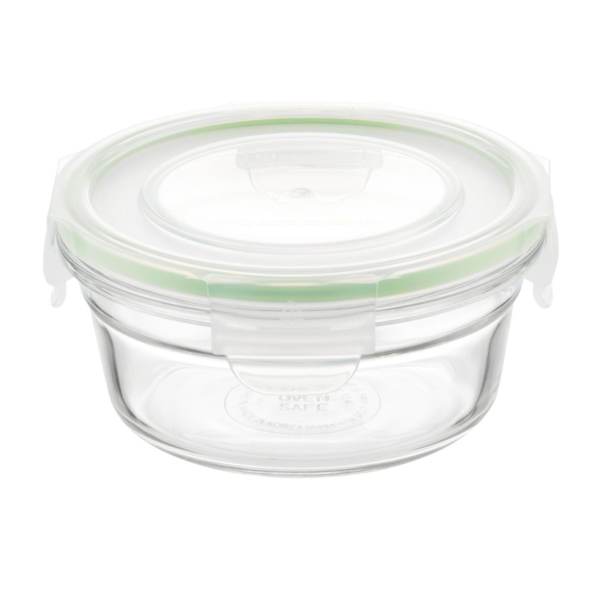 glasslock round food containers with lids - Glass Containers With Lids