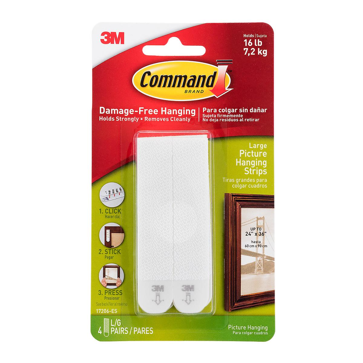3M Command Adhesive Picture Hanging Strips