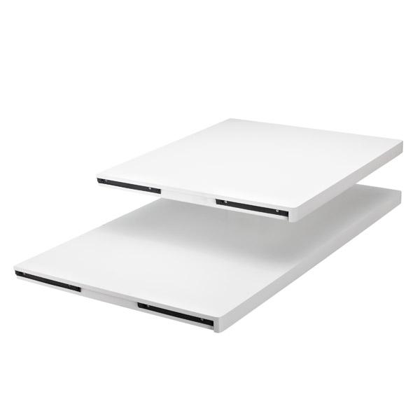 White Elfa D Cor Desk Tops The Container Store
