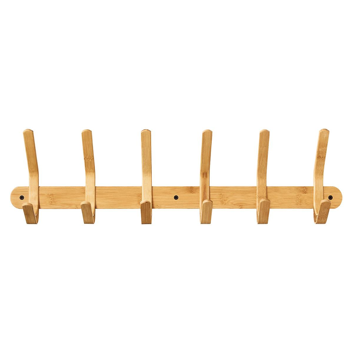 Bamboo Coat Amp Hat Rack The Container Store