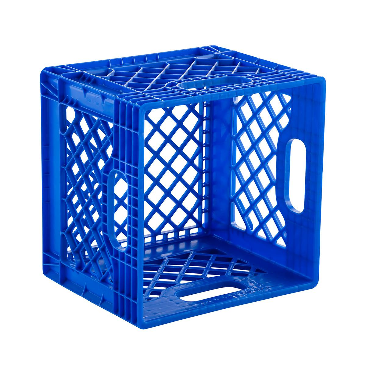 Image result for blue crate