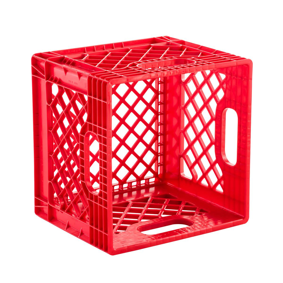 Milk crate authentic dairy crate the container for What to do with milk crates