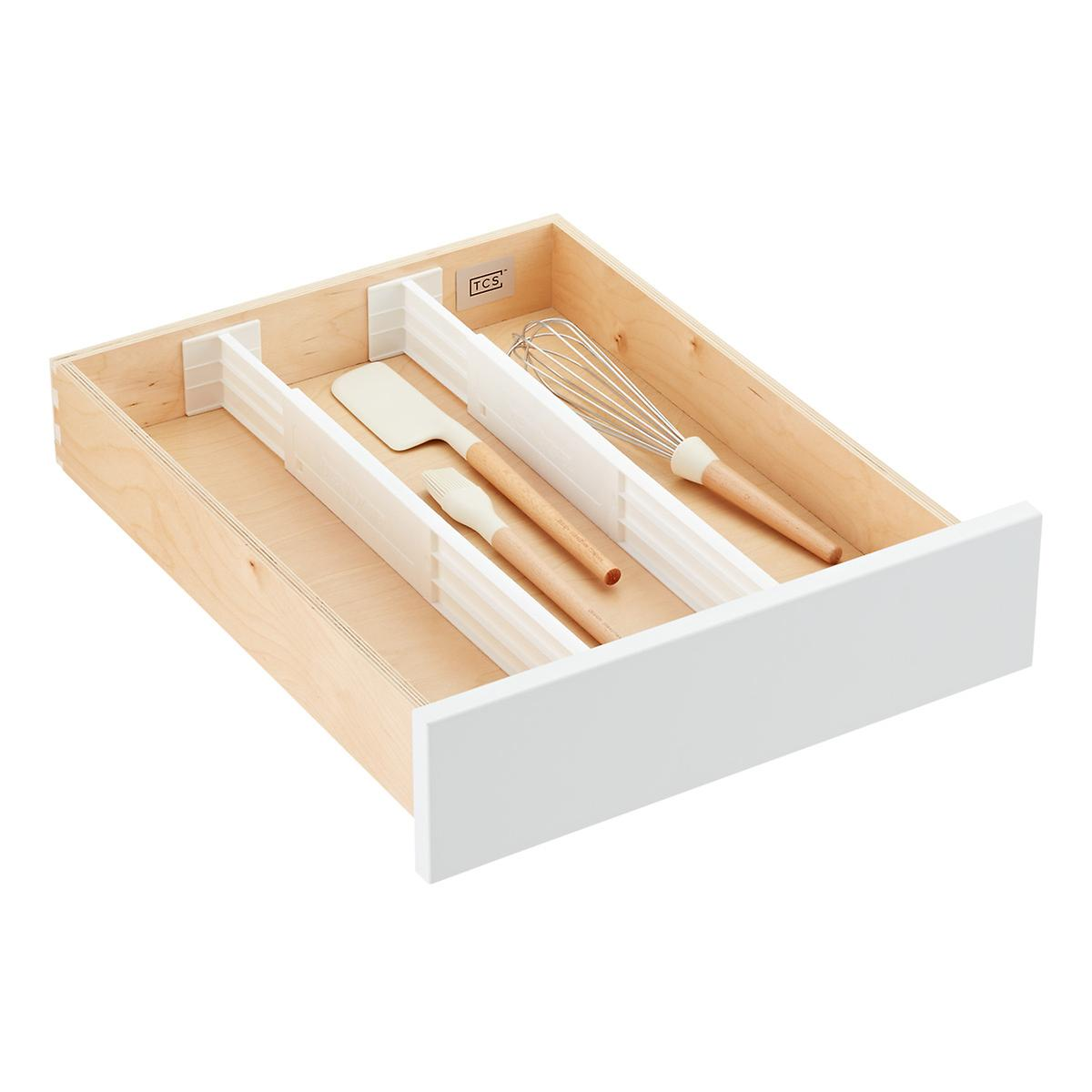 3 dream drawer organizers the container store for Bathroom drawer organizer