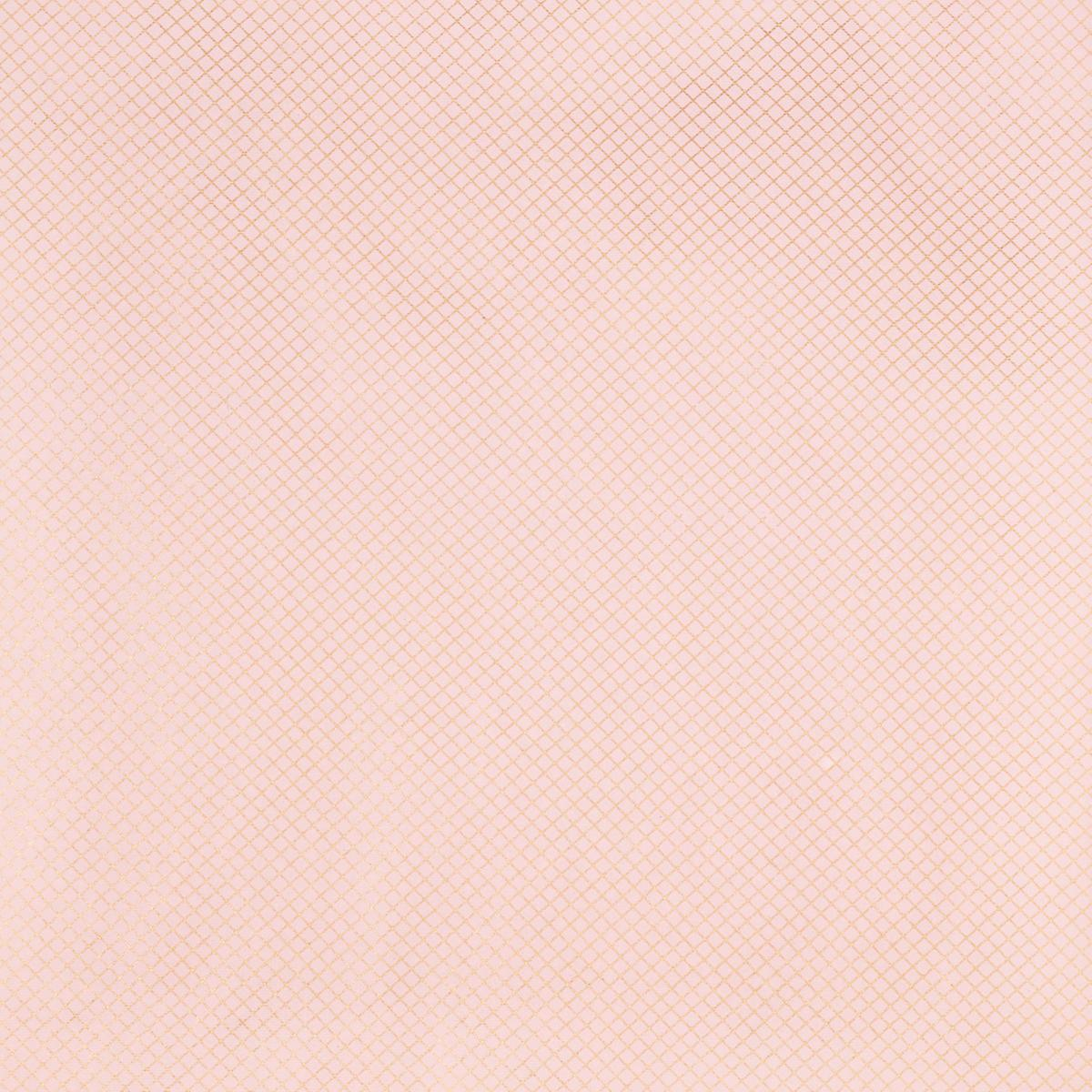 Blush Pink Gold Grid Foil Wrapping Paper Sheets The Container Store