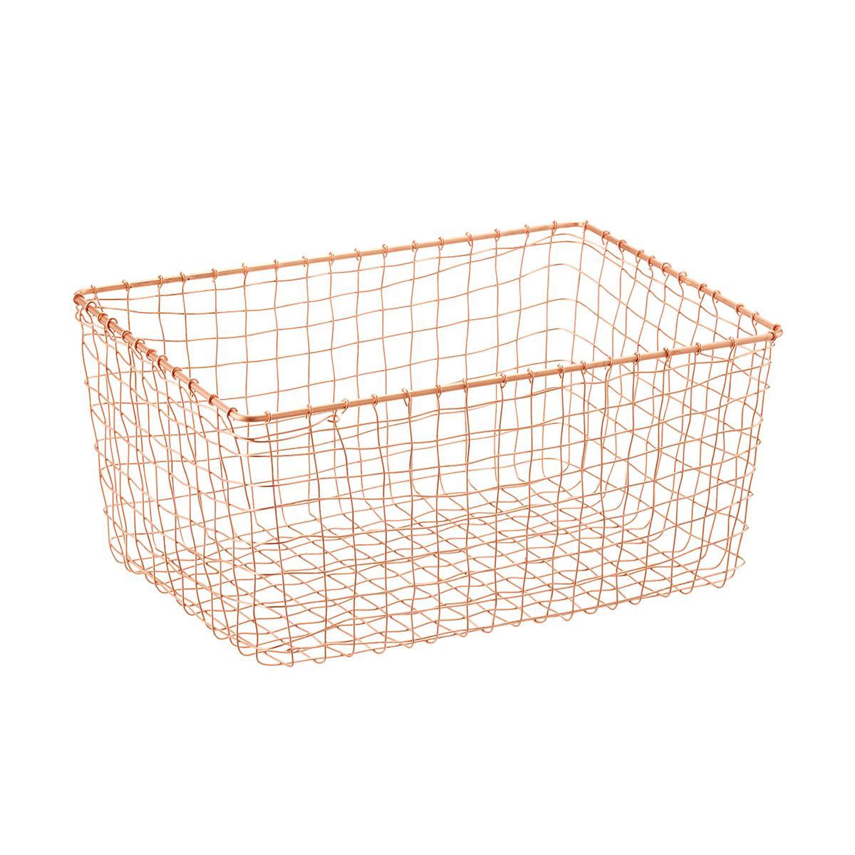 Design Ideas Copper Wire March Baskets