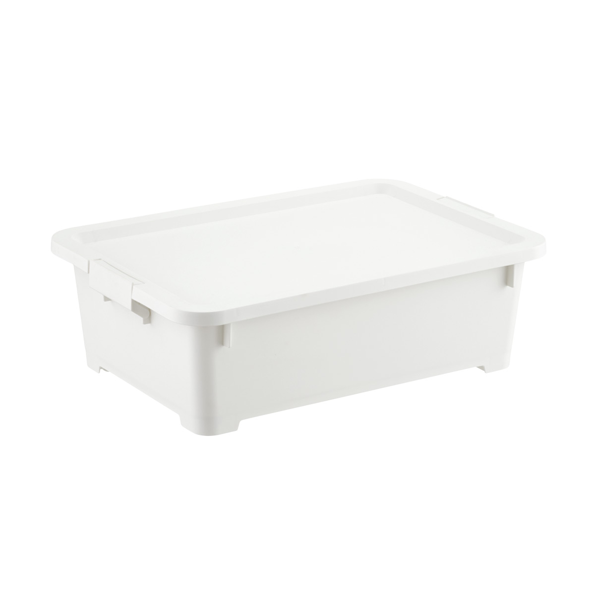White Rolling Plastic Storage Totes  sc 1 st  The Container Store & White Rolling Plastic Storage Totes | The Container Store