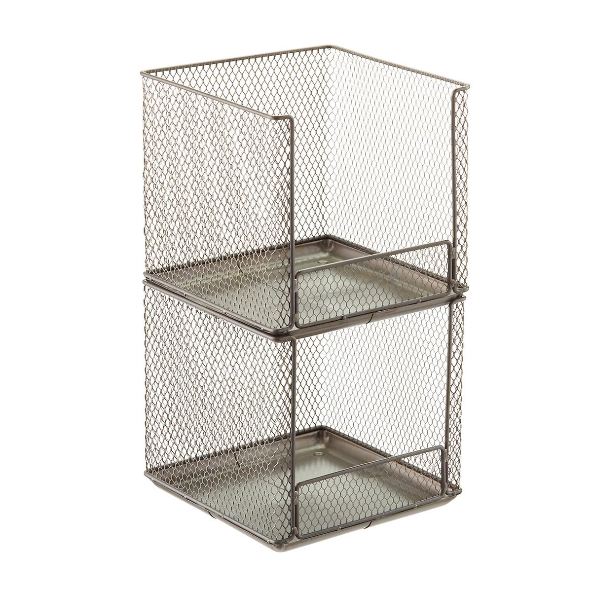 Design Ideas Open Front Stackable Wire Storage Cubes | The ...