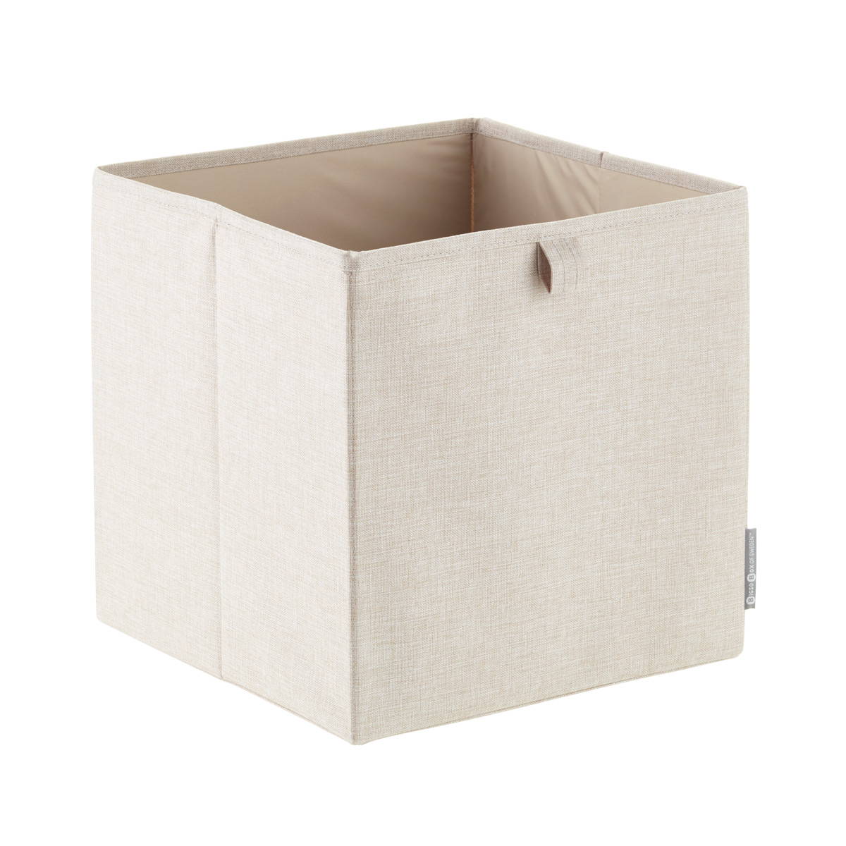 Superieur Bigso Flax Fabric Storage Cube