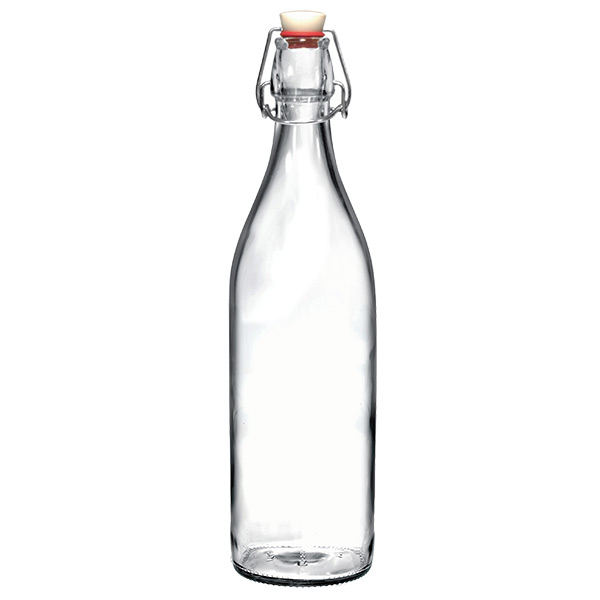 glass water bottles giara glass water bottle the container store