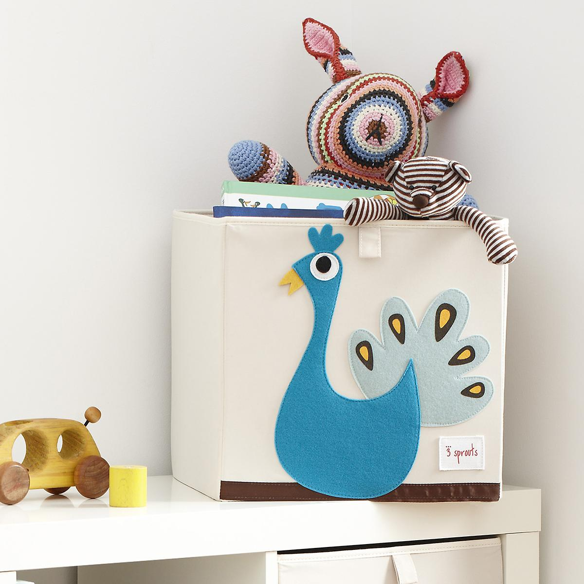 sprouts peacock storage cube  the container store - peacock storage cube by  sprouts ·  ·  roll over to zoom