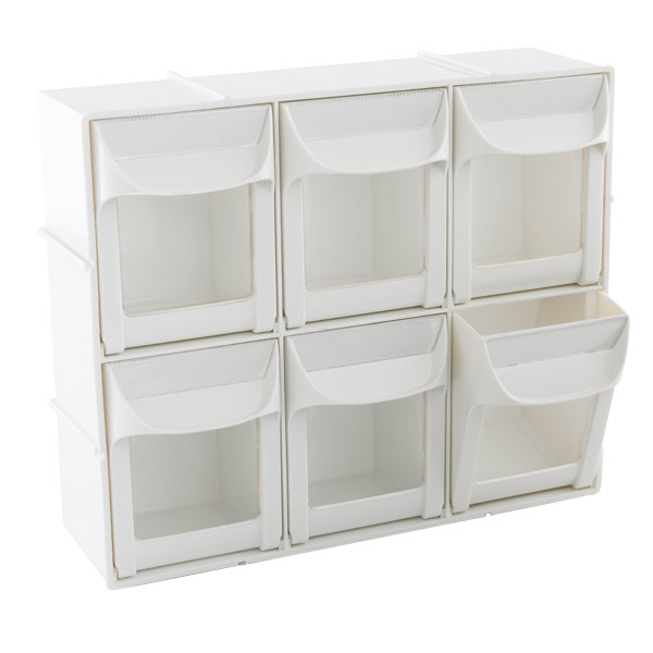 Modular Flip Out Bins The Container Store