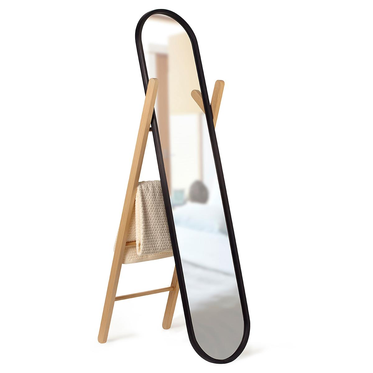 Umbra Hub Full-Length Floor Mirror | The Container Store