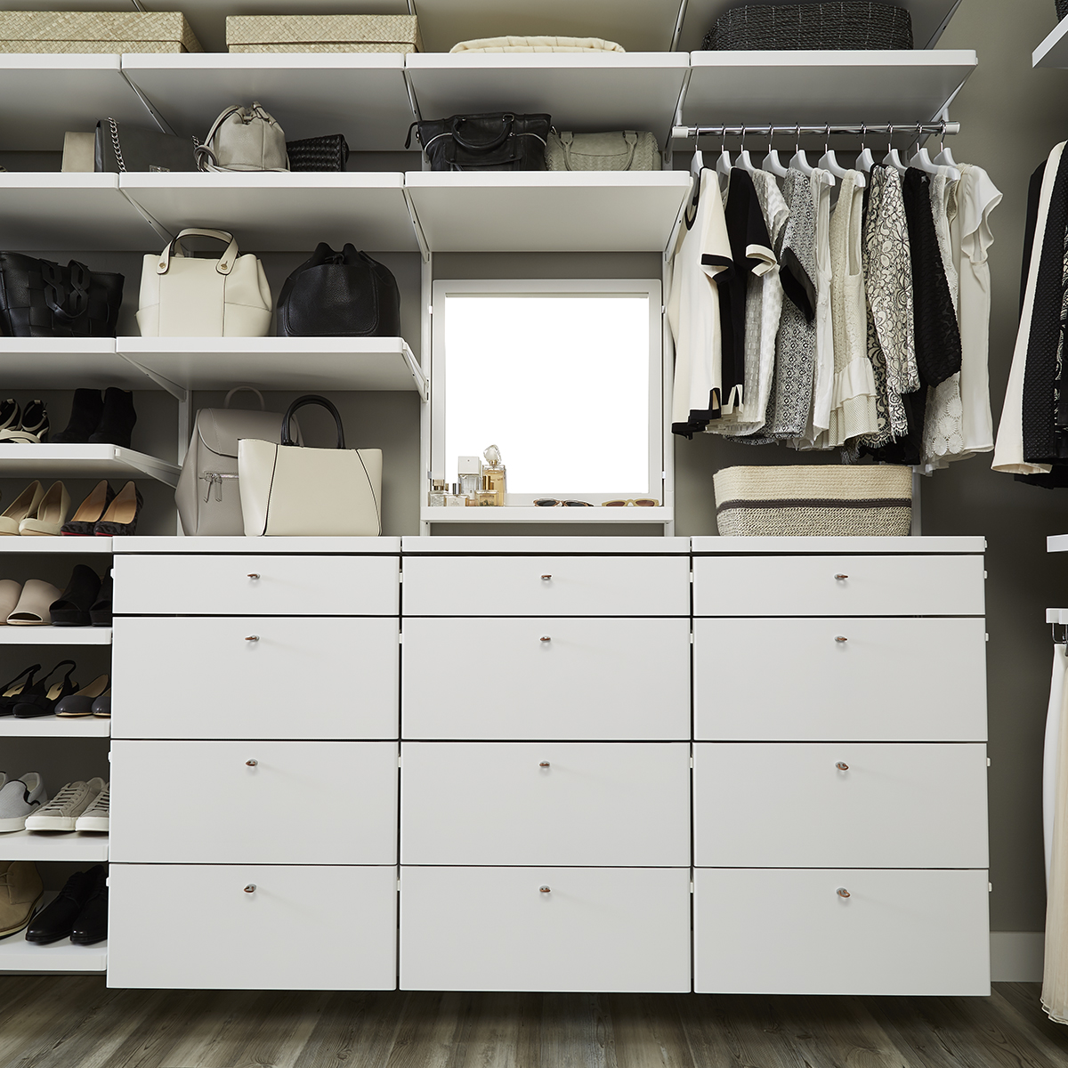 white elfa dcor drawer frames u0026 fronts