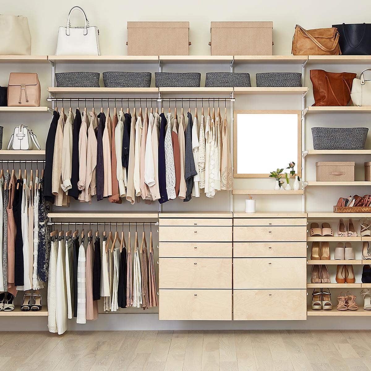 Elfa Closet Design Tool Dandk Organizer