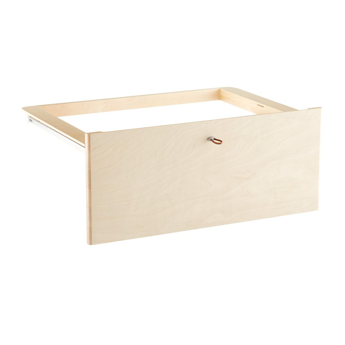 Birch Elfa Décor Drawer Frames & Fronts | The Container Store