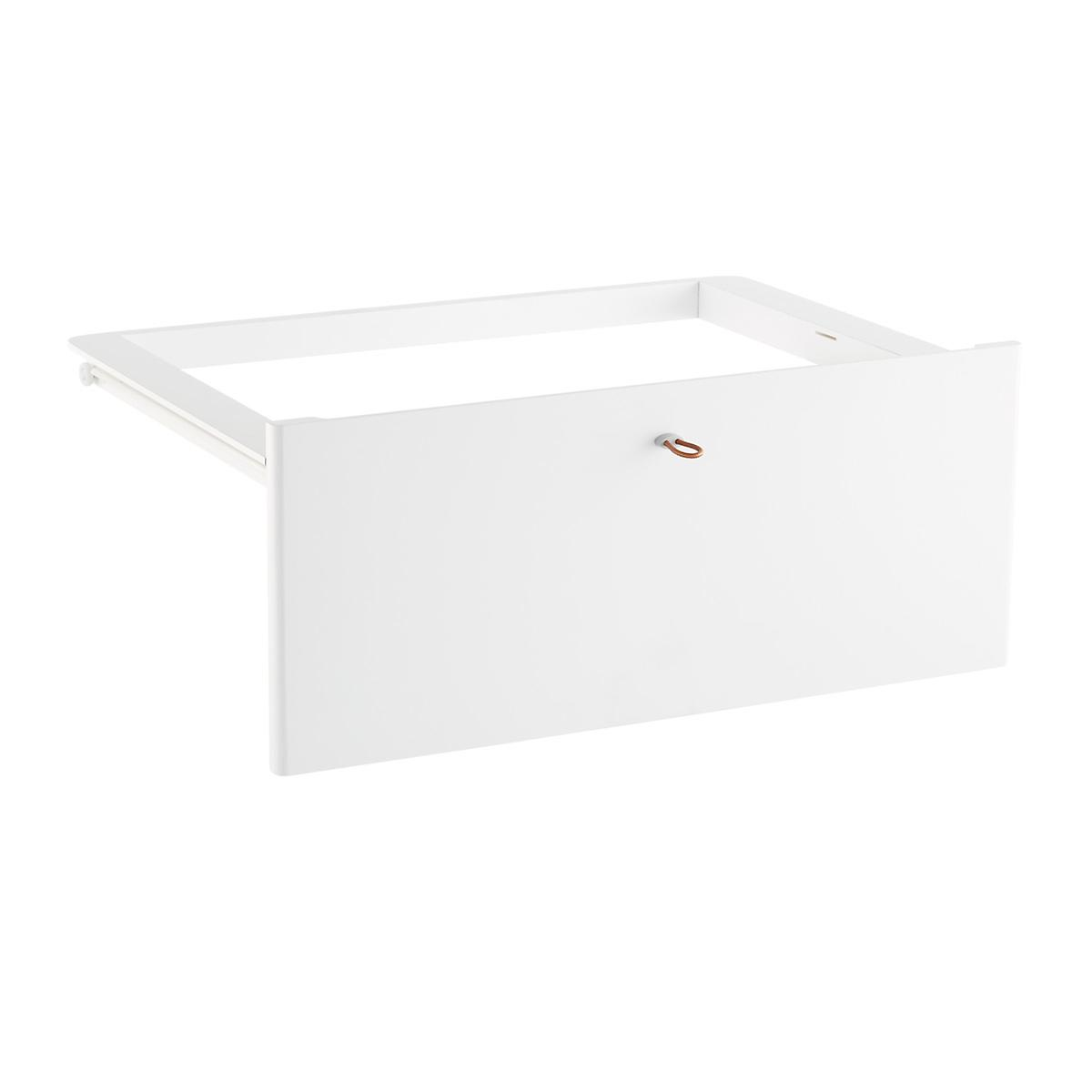 White Elfa Décor Drawer Frames & Fronts | The Container Store