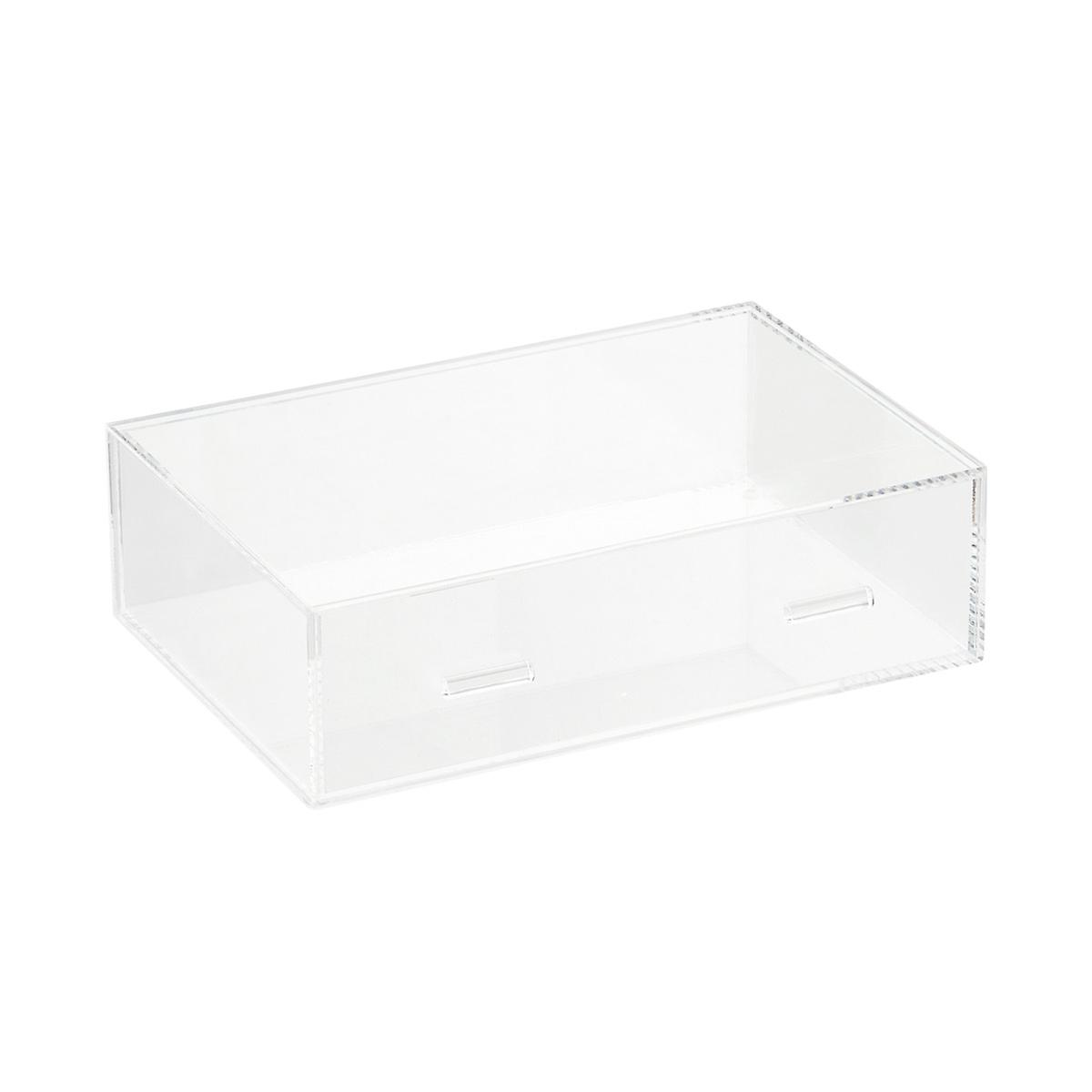 ... Large Luxe Acrylic Makeup Organizer Clear. Roll over to zoom