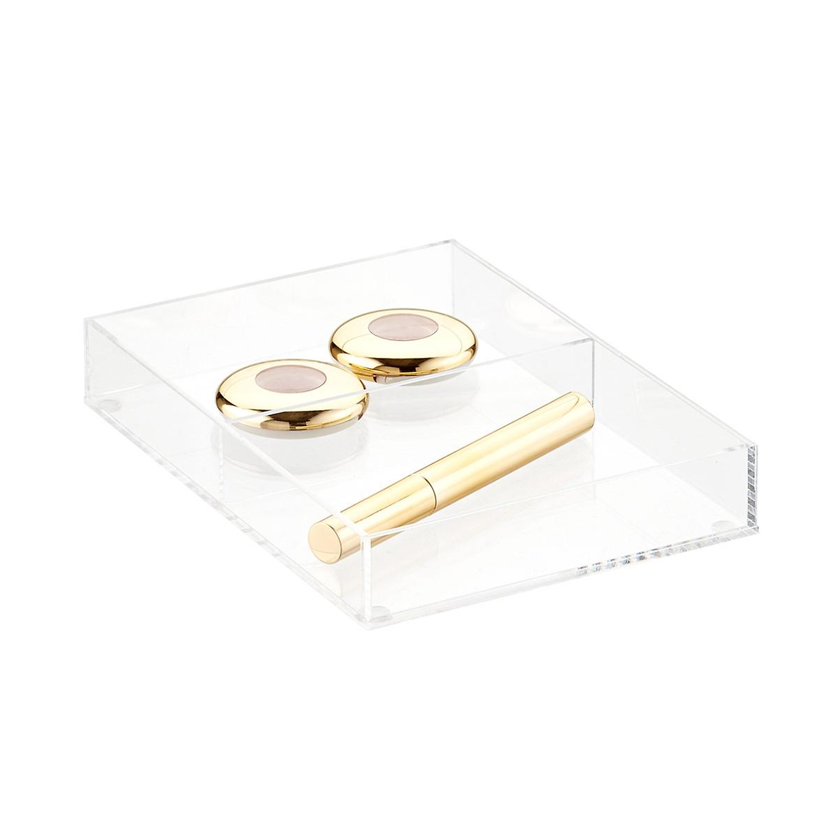 Image result for Luxe Acrylic Short 2-Section Divided Drawer Insert