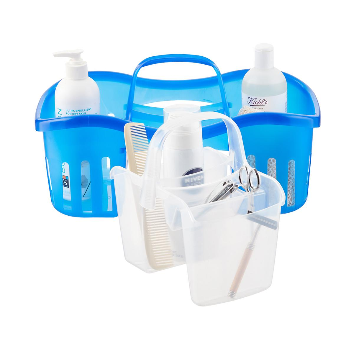 Casabella Blue 2 In 1 Shower Caddy The Container Store