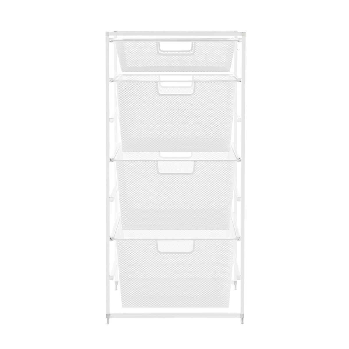 White Elfa Drawer Frames | The Container Store