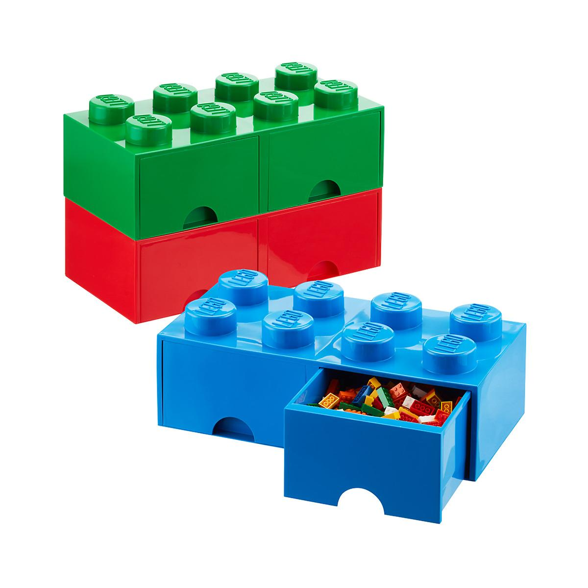 Red X Large Lego Storage Drawer The Container Store