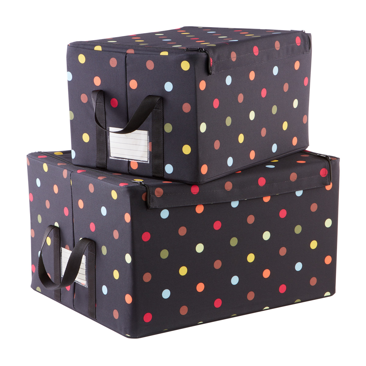 Superbe Reisenthel Multi Dot Fabric Storage Boxes With Handles ...