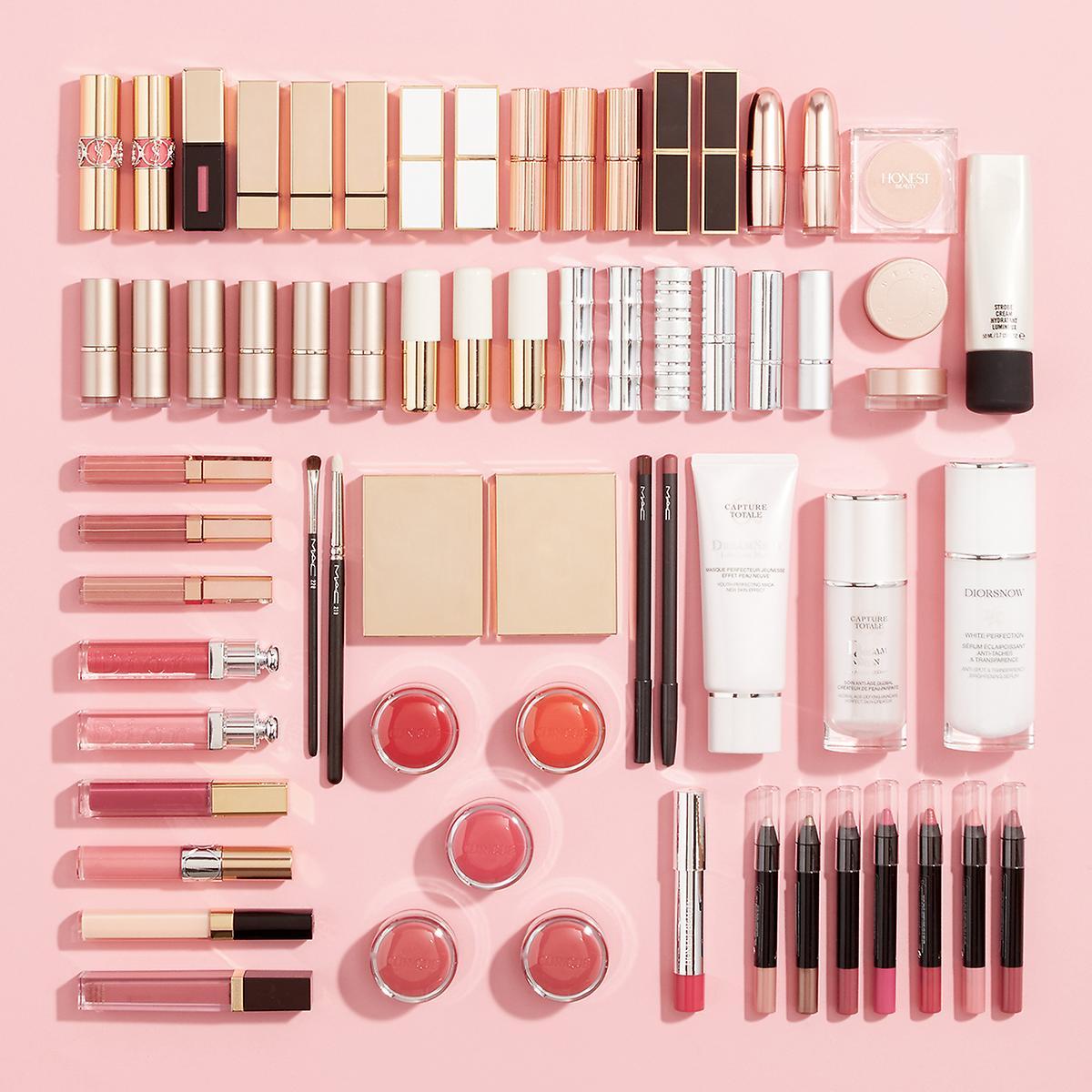 Luxe Acrylic Medium Makeup & Nail Polish Storage Kit