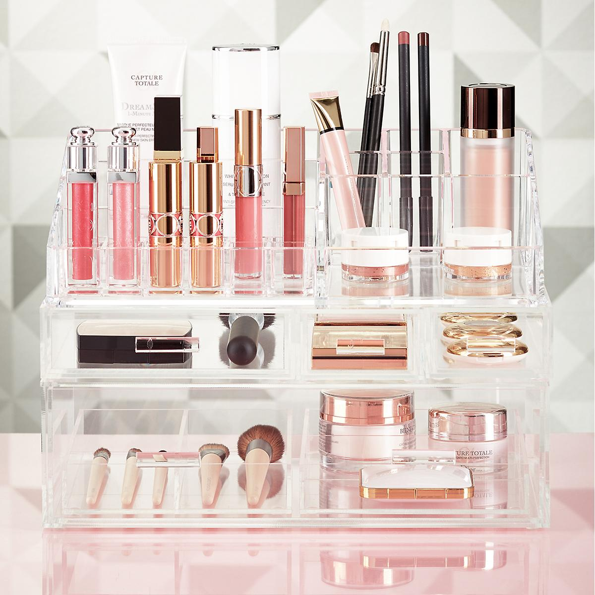 Luxe Acrylic Makeup Storage Kit The