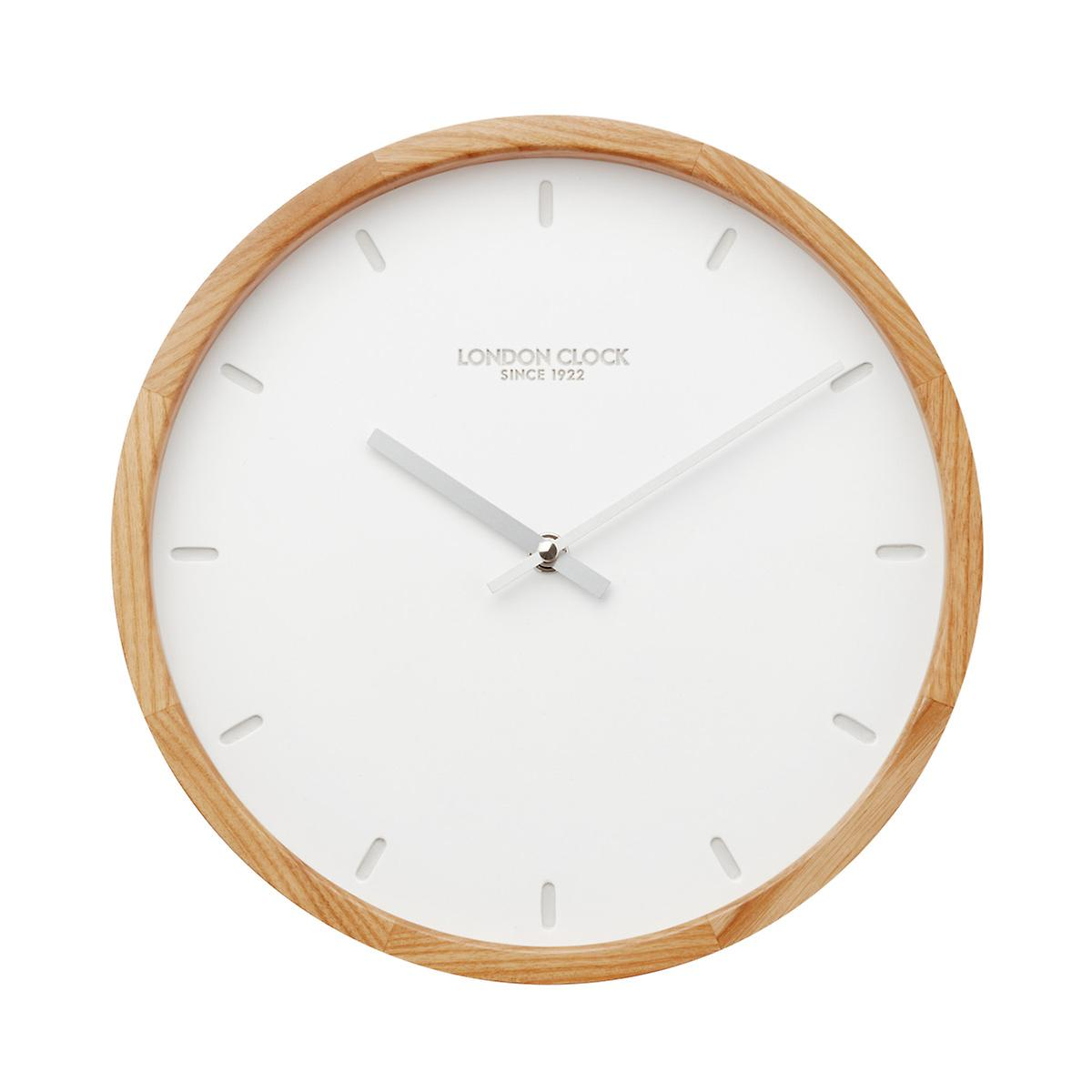 London clock co klokke wall clock the container store roll over to zoom amipublicfo Image collections