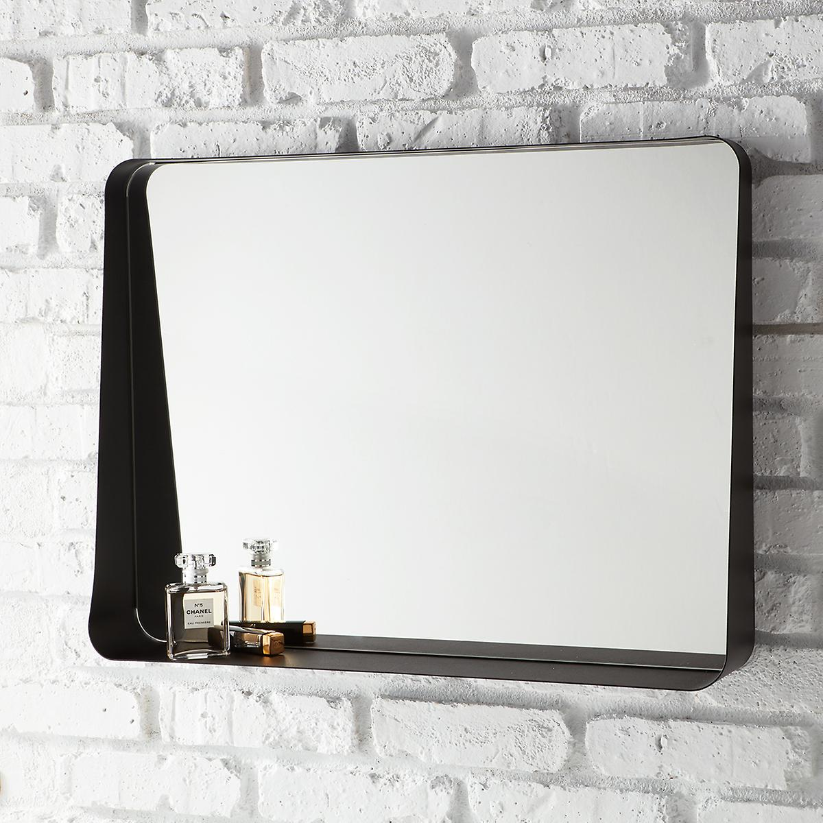 Wall mirror black gallery home wall decoration ideas black horizontal arch wall mirror the container store black horizontal arch wall mirror amipublicfo gallery amipublicfo Gallery