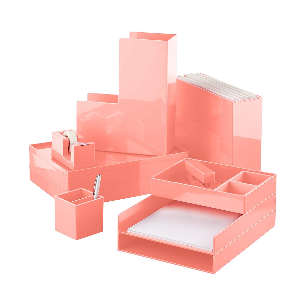 Blush poppin business card holder the container store blush poppin business card holder roll over to zoom magicingreecefo Choice Image