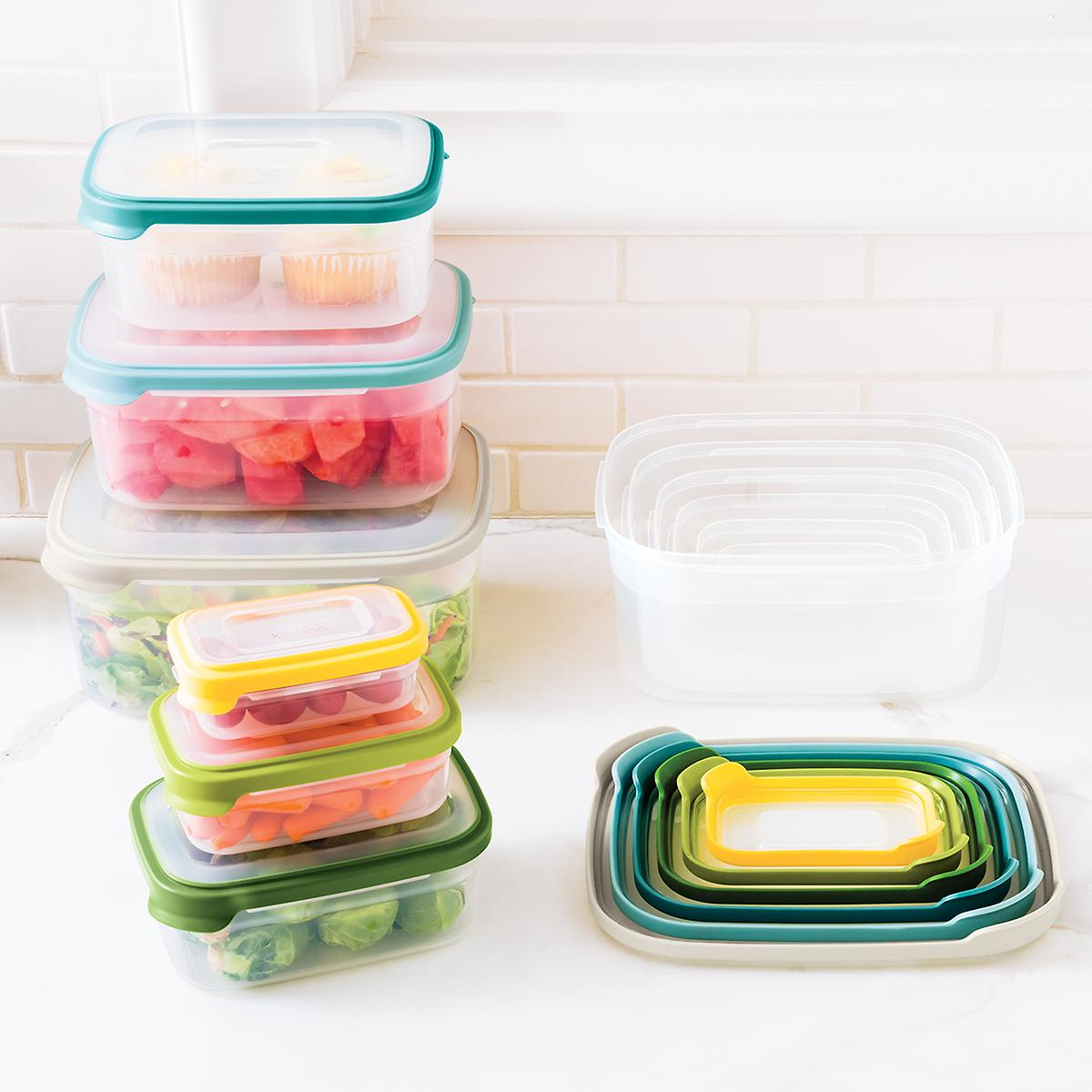Food Storage Containers Space Saving