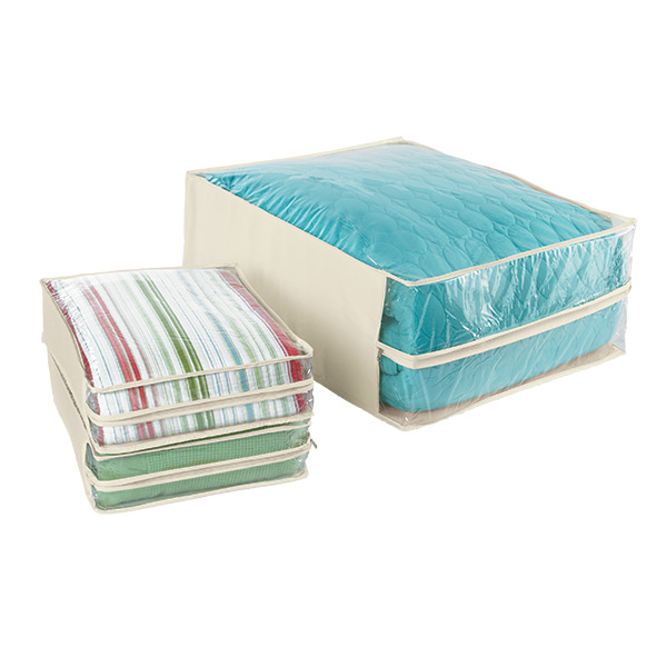 Natural Cotton/PEVA Storage Bags  sc 1 st  The Container Store & Natural Cotton/PEVA Storage Bags | The Container Store