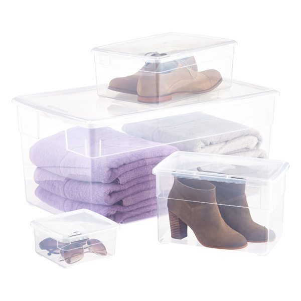 Our Clear Storage Boxes  sc 1 st  The Container Store & Our Clear Storage Boxes | The Container Store