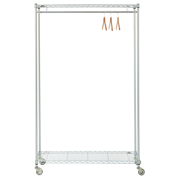 InterMetro Clothes Rack The Container Store Extraordinary Jig Silver Coat Rack