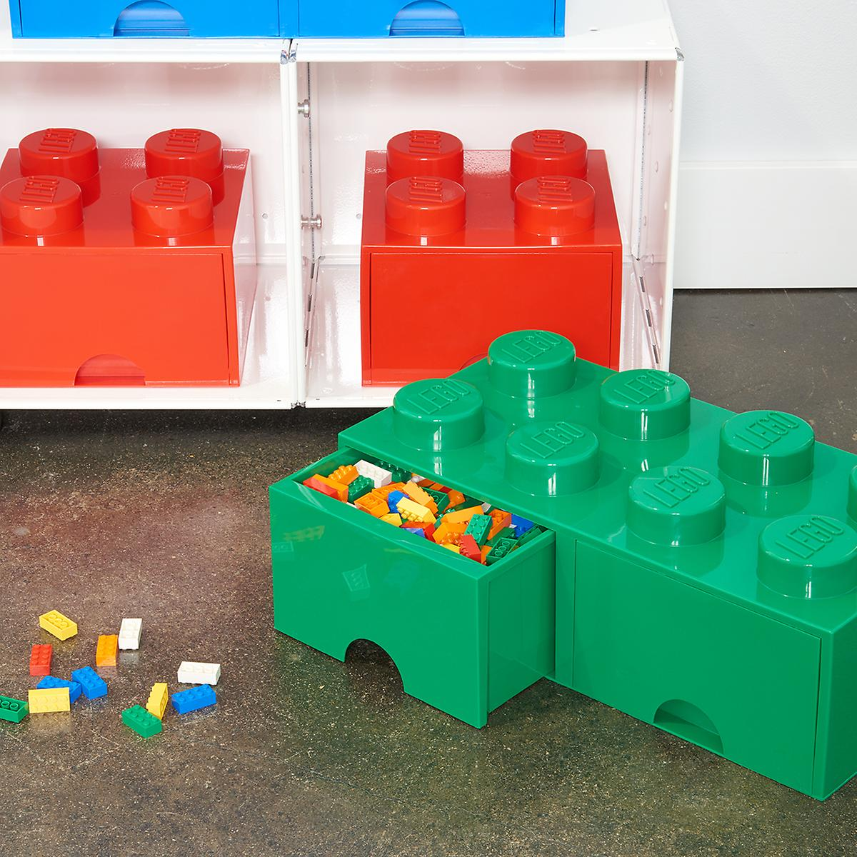 Red Large Lego Storage Drawer The Container Store