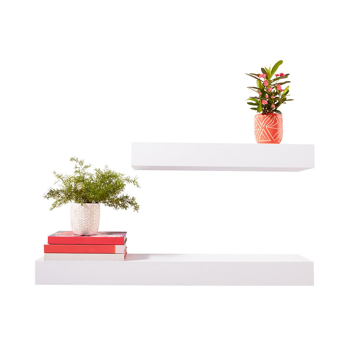 White Floating Shelves The Container Store