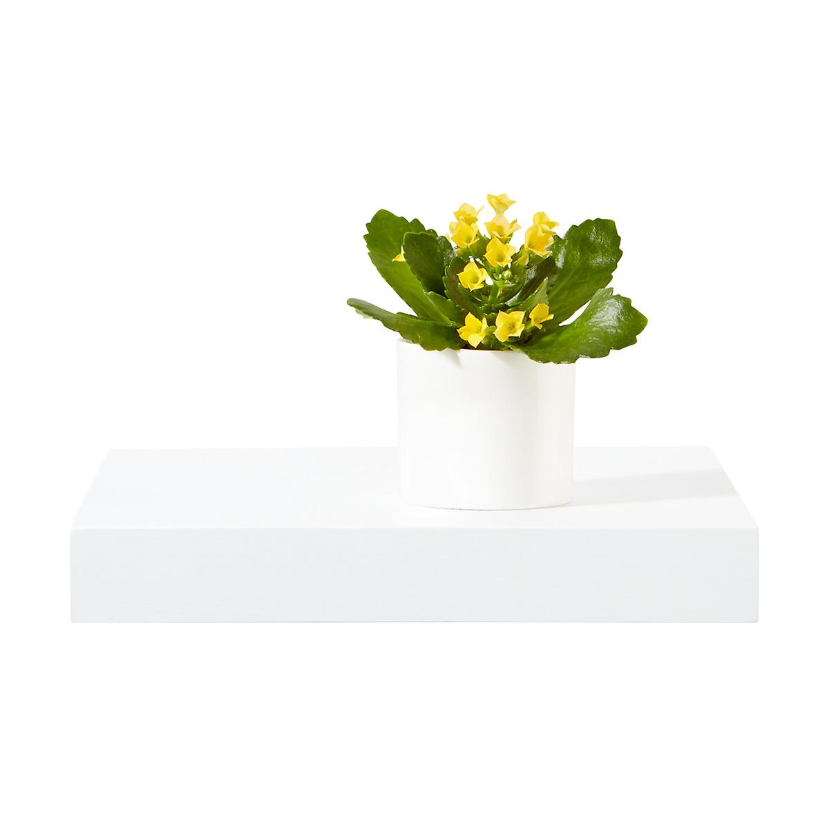 White Floating Display Shelf | The Container Store