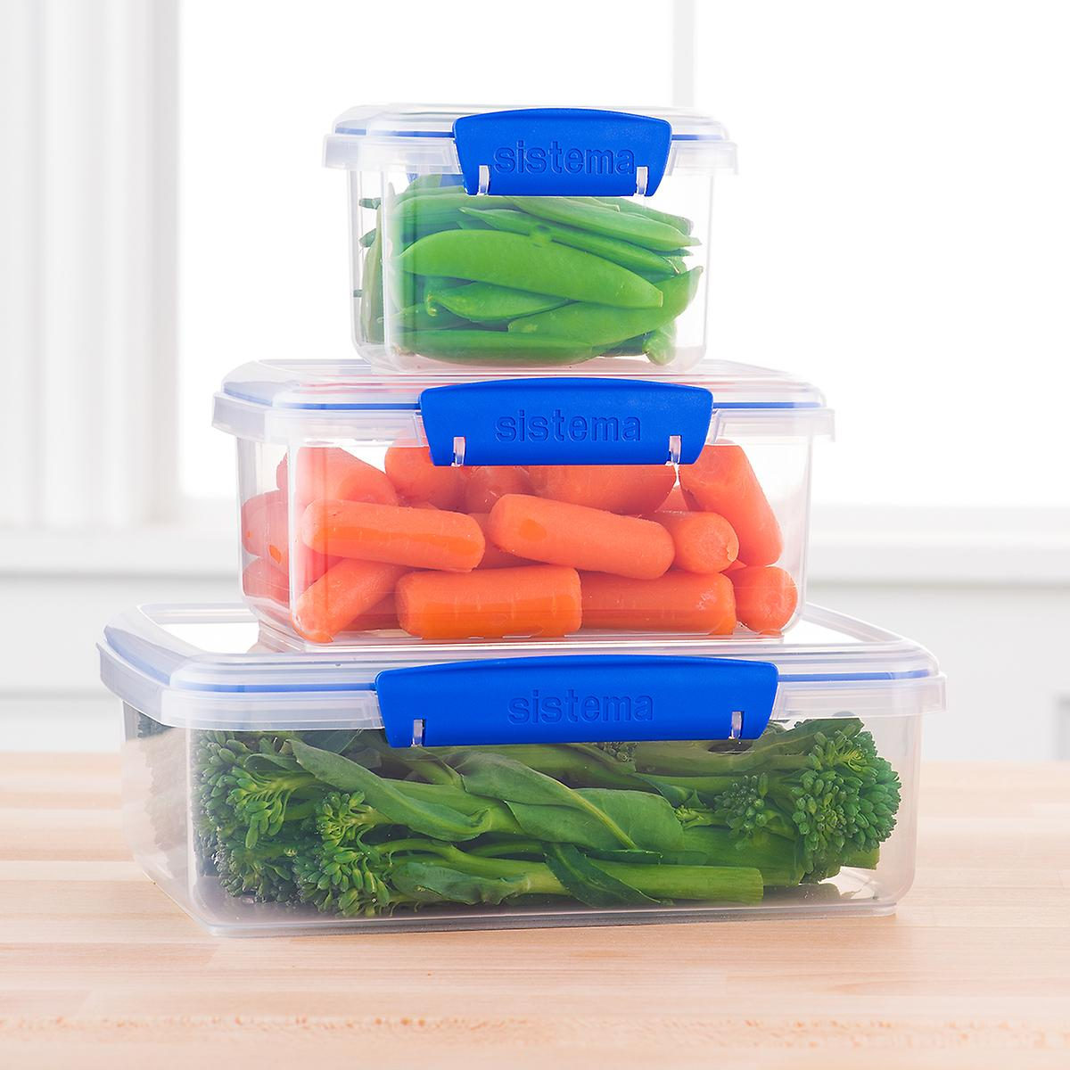 Rectangular Klip-It Food Storage ...