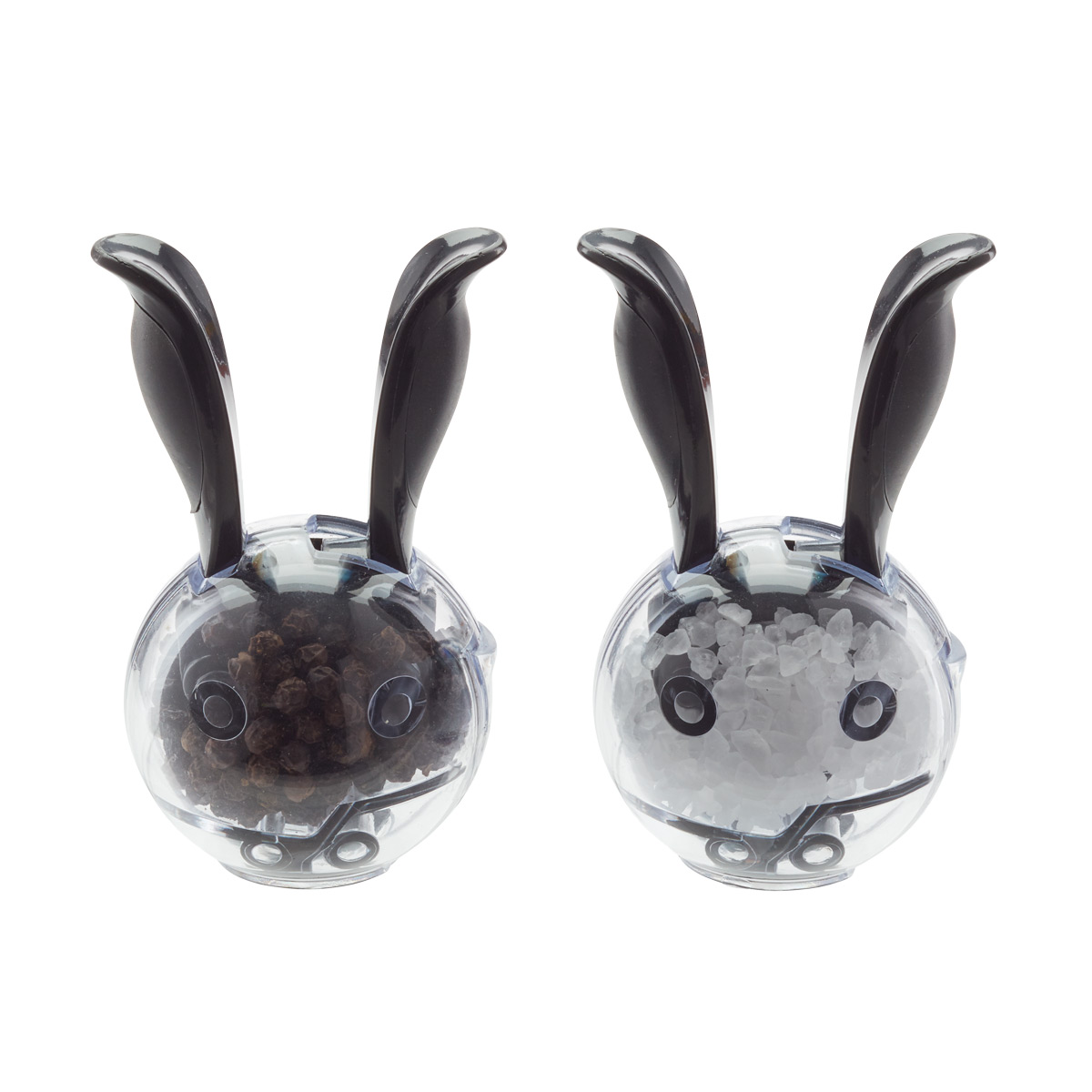 Mini Magnetic Salt Pepper Grinder Set The Container Store